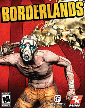 borderlands 1 box art