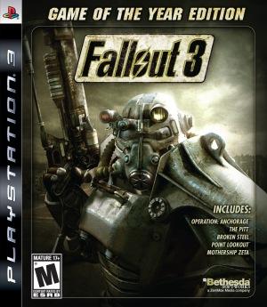 fallout 3 box art