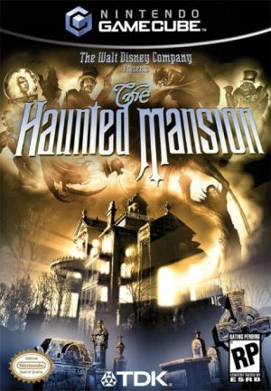 haunted mansion box art