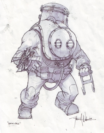 big daddy sketch nate wells 01