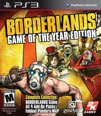 borderlands game of the year edition box art