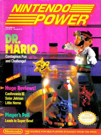 dr mario nintendo power