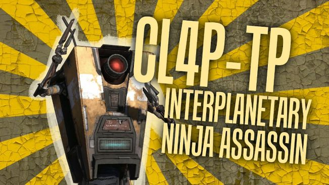 claptrap interplanetary ninja assassin