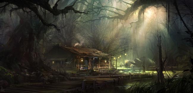 infamous 2 swamp