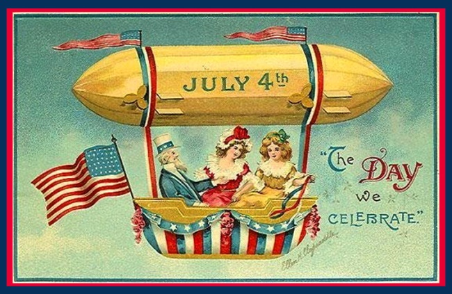 vintage independence day