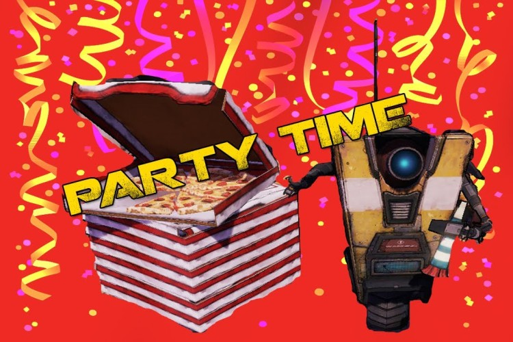 claptrap party time