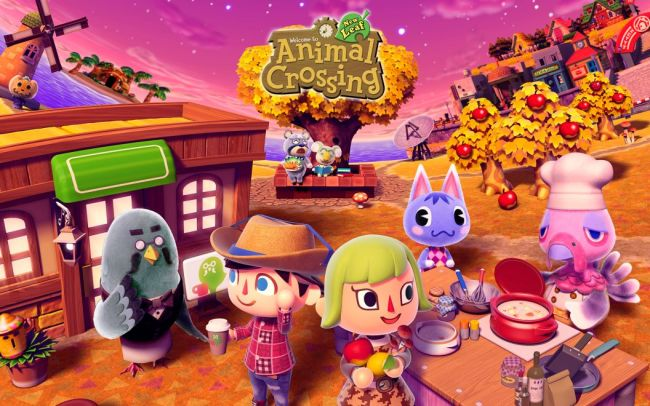 animal crossing new leaf autumn