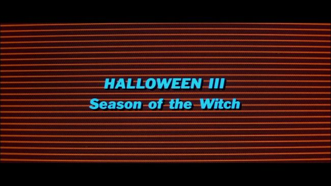halloween 3 season of the witch opening