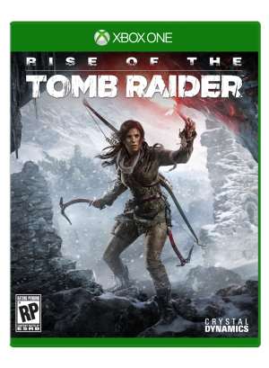 rise of the tomb raider box art png