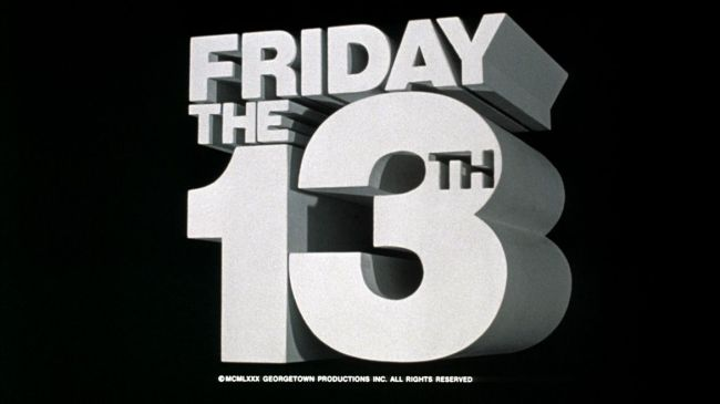 friday the 13th title screen