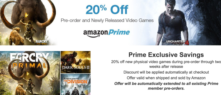 amazon prime video game deal screenshot
