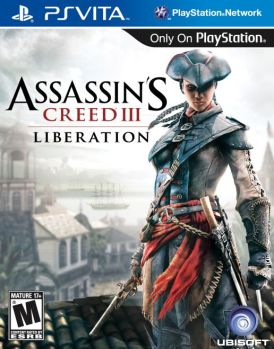 assassins creed III liberation ps vita box art