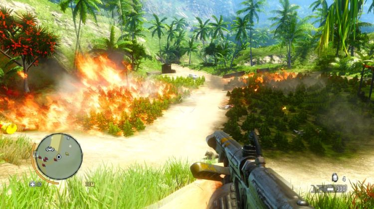 far cry 3 burning the weed mission