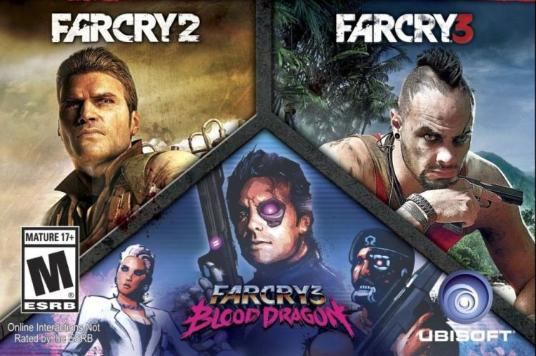far cry triple pack