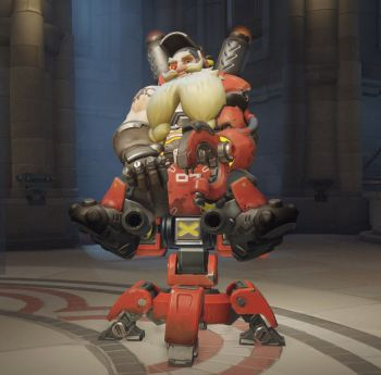 torbjorn sitting pretty victory pose