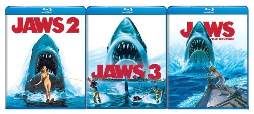 jaws sequels (2, 3, and the revenge)