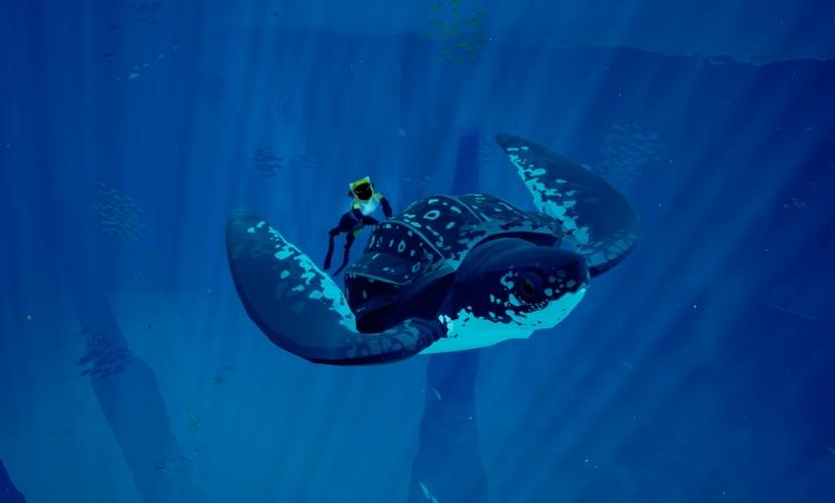 abzu turtle riding